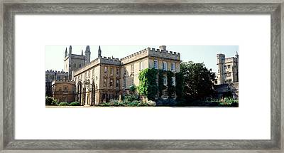 Oxford University, New College Framed Print by Panoramic Images