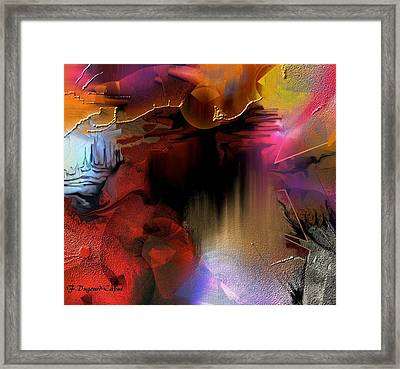 Oxocelhaya Framed Print by Francoise Dugourd-Caput