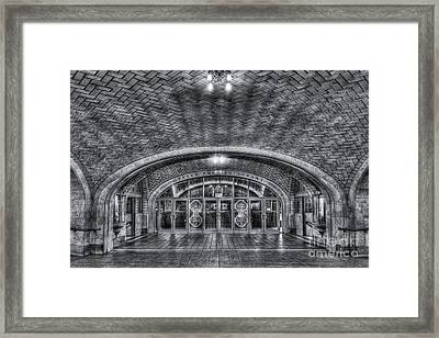 Oyster Bar Restaurant II Framed Print by Clarence Holmes