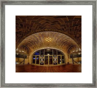 Oyster Bar Framed Print