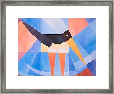 Oystercatcher Deco Framed Print