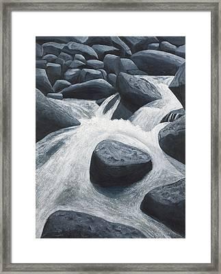 Ozark Creek Framed Print by Garry McMichael