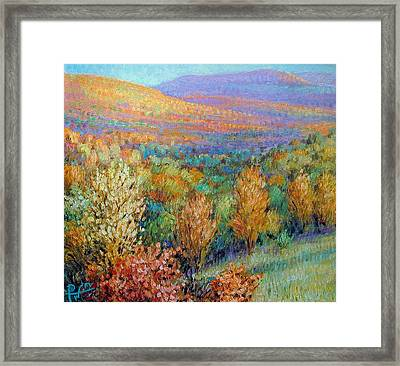 Ozark Fall Framed Print by Henry David Potwin