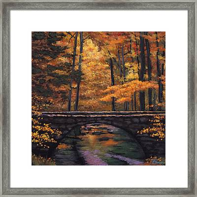 Ozark Stream Framed Print by Johnathan Harris