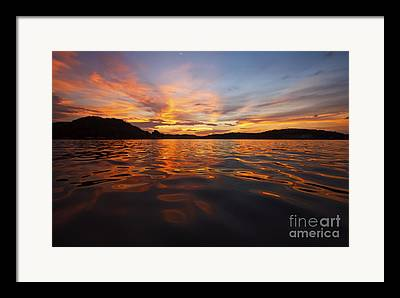 Lake Of The Ozarks Framed Prints