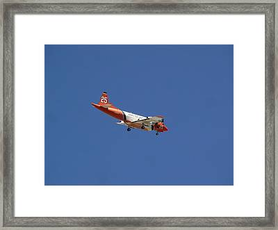 P-3 Orion Hero's Return Day Framed Print