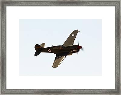 P-40 Framed Print