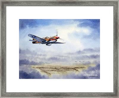 P-40 Warhawk Framed Print