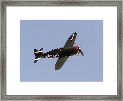 P-47 Thunderbolt Framed Print