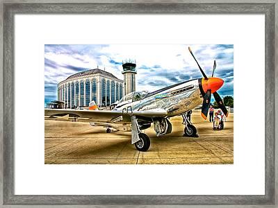 P-51 At Dupage Framed Print