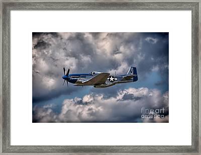P-51 Mustang Framed Print