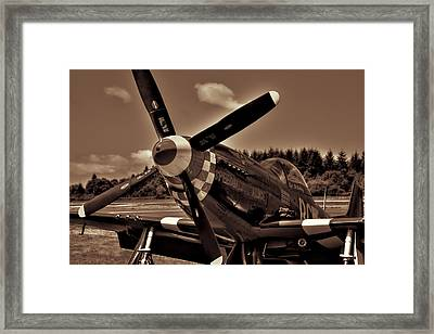 P-51 Mustang Fighter Framed Print