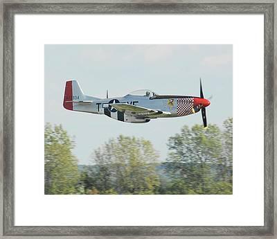 P-51d Mustang Shangrila Framed Print