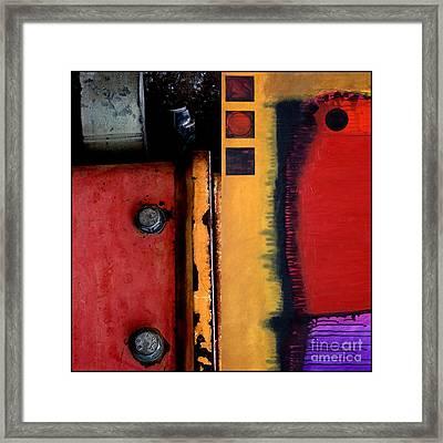 p HOT 116 Framed Print by Marlene Burns