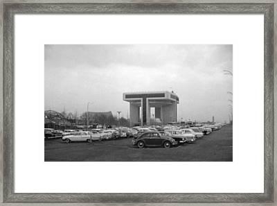 P O N Y A Building Framed Print