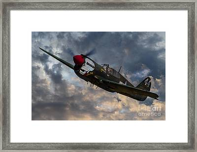 P40 Warhawk Tribute Framed Print