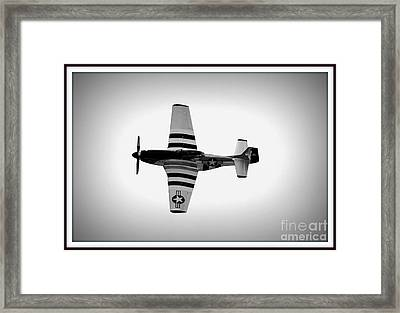 P51 King Of The Skies Framed Print