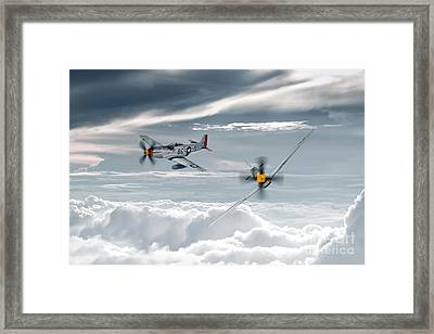 P51 Mustang - Old Crow Framed Print