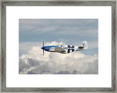 P51 Mustang Gallery - No2 Framed Print by Pat Speirs