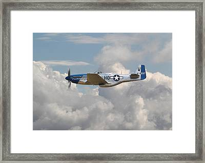 P51 Mustang Gallery - No3 Framed Print by Pat Speirs