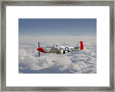 P51 Mustang Gallery - No4 Framed Print by Pat Speirs