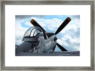 P51 Framed Print by Remy NININ