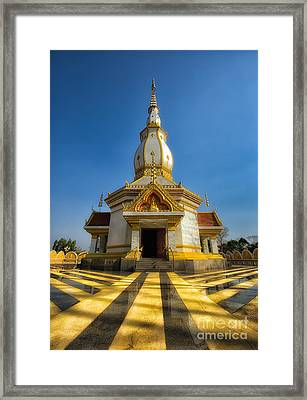 Pa Dong Wai Temple  Framed Print by Adrian Evans