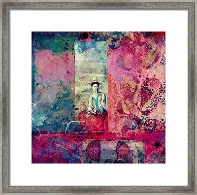 Pablo And Frida's Day Dream Framed Print
