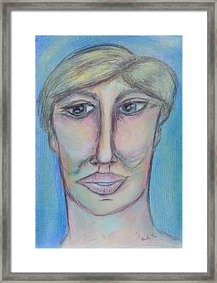 Pablo Framed Print by Donna Blackhall