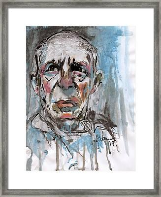Pablo Picasso Framed Print