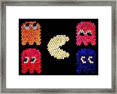 Pac-brite Framed Print by Benjamin Yeager