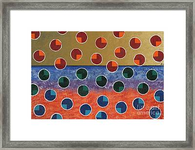 Pacman Zombies Awaking At Sun-rise Framed Print by Jeremy Aiyadurai