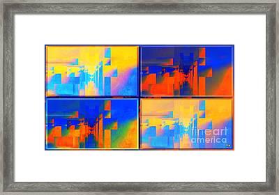 Pace---guera Framed Print by Halina Nechyporuk