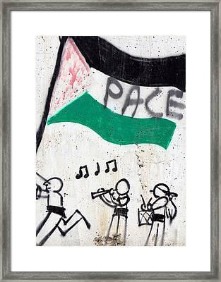 Pace Framed Print