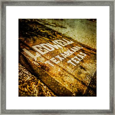 Pacific Airmotive Corp 06 Framed Print by YoPedro