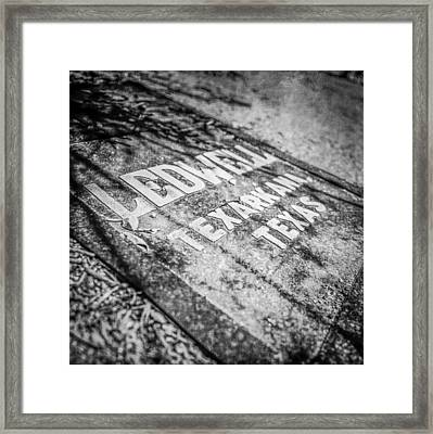 Pacific Airmotive Corp 06b Framed Print by YoPedro