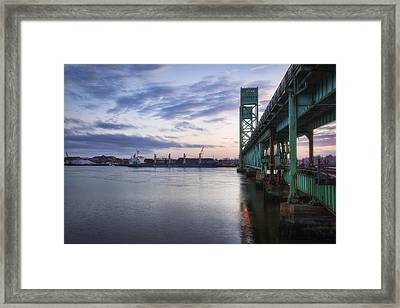 Pacific Basin Framed Print by Eric Gendron