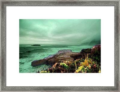 Pacific Beauty Framed Print by Dale Stillman