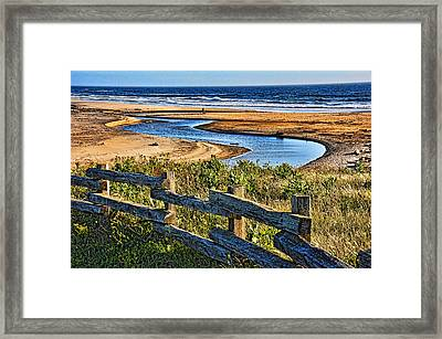 Pacific Coast - 4 Framed Print