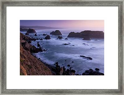 Pacific Coast Framed Print by Bob Gibbons