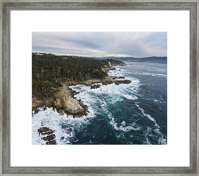 Pacific Coast Framed Print by David Levy