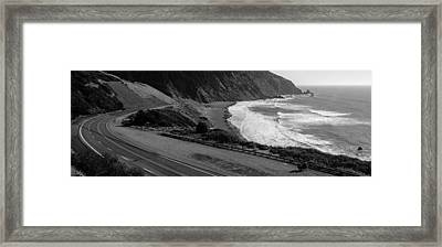 Pacific Coast Highway Framed Print