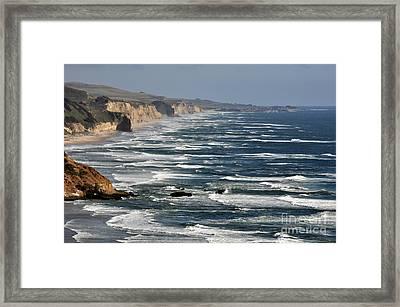 Pacific Coast - Image 001 Framed Print