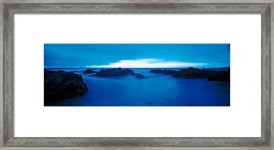 Pacific Coast Monterey Ca Usa Framed Print