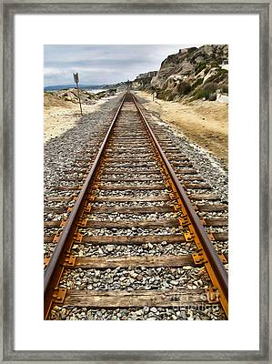 Pacific Coast Railroad Framed Print