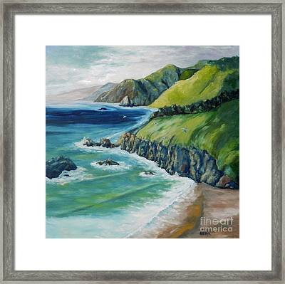 Pacific Coast Framed Print