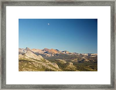Pacific Crest Trail Mountains Framed Print