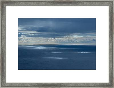Pacific Highlights Framed Print