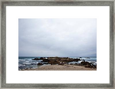 Pacific Horizon Framed Print by Melinda Ledsome