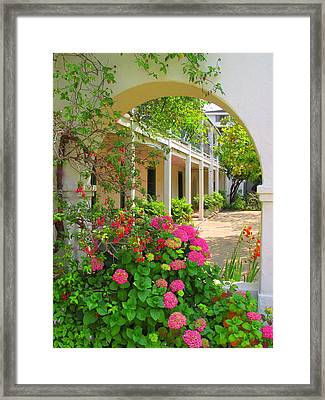 Pacific House Framed Print